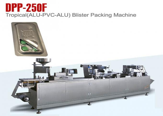 Multi Function Gmp Pharmacy Blister Packaging Machine High Sealing