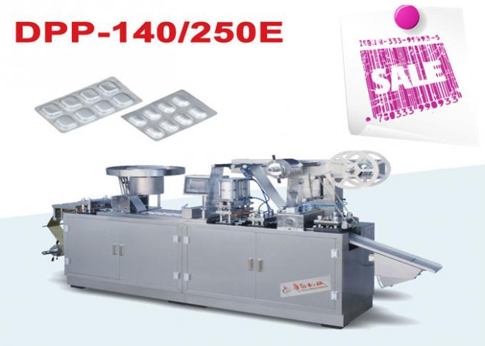 Eco Friendly Full Auto Mini Electronic Alu Alu Blister Packing Machine with Flat Plate