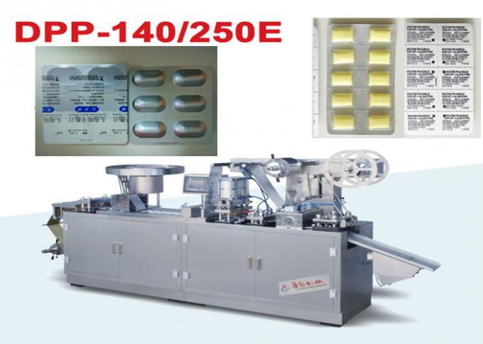 Small Alu Alu Blister Packing Machine Cold forming and Thermoforming Conversion