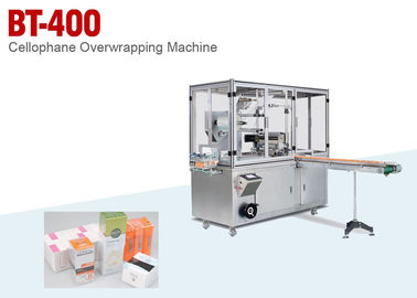 China Single Box Or Boxes Cellophane Overwrapping Machine For Cosmetics supplier