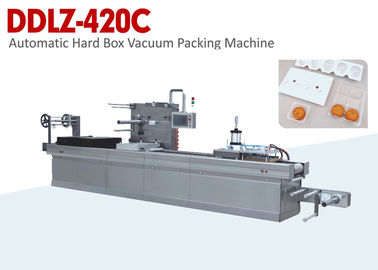 China Open Type Automated Hard Box Vacuum Packing Machine Advanced Technology supplier