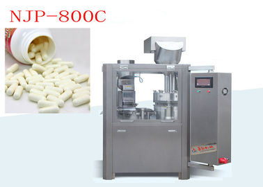 China CE ISO Approval Automatic Capsule Filling Machine 800 Capsules / Min NJP-800C supplier