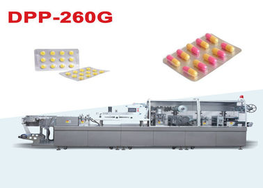 China CE Approved Automatic Pharmaceutical Blister Packaging With Servo Motor Driving supplier