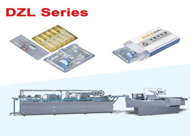 China Pharmacy Vial / Ampoule Blister Packing Machine Production Line Fully Automatic supplier