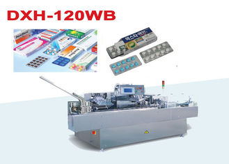 China Stainless steel 304 Automatic Carton Packing Machine For Pharmacy , 380V/220V factory