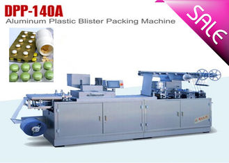 China Flat Type Small Tablet Blister Packaging Machine CE GMP Approved factory