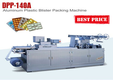 China Small Capsule ALU PVC Blister Packaging Equipment Blistering Machine factory