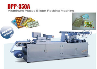 China PVC Alu Alu Blister Machine Blister Line Making Forming Sealing Machines DPP-350 supplier