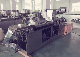 Aluminum Plastic Pill Blister Packing Machine , Pharmaceutical Packaging Equipment