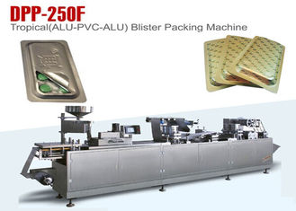 China Multi Function Gmp Pharmacy Blister Packaging Machine High Sealing supplier