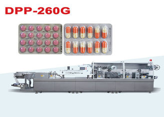 China High Speed Pharmaceutical Blister Packaging Machines With Servo Motor Driving supplier