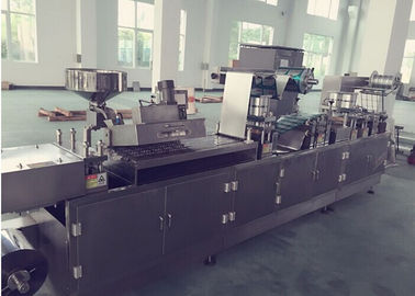 Tropical Tablet / Capsule Blister Packing Machine Alu Alu Blister Machine Multifunction