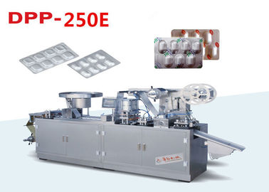 DPP-250E Automatic Alu Alu Blister Packing Machine Cold Forming Aluminum Packaging