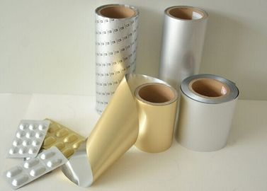 China Cold Formable Alu Foil / Alu Alu foil Pharmaceutical Blister Packing Alu Foil Roll factory