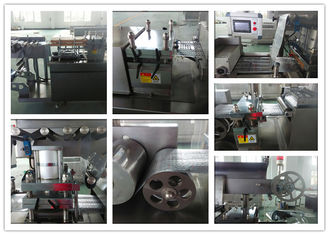 China Automatic Capsule High Speed Blister Packing Machine / Blister Pack Sealing Machine supplier