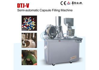 China 380V 50Hz Semi Auto Capsule Filling Machine Small Pharmacy Filling Machinery supplier