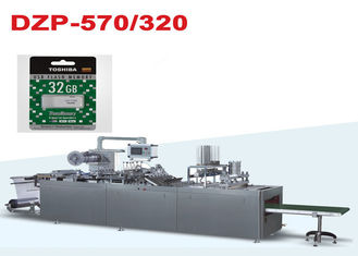 China DZP-320 Fully Auto Paper and PVC Blister Packing Machine for USB Flash Drive factory