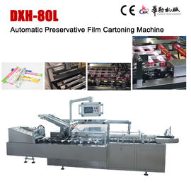 China High Accuracy Automatic Cartoning Machine Preservative Film Cartoning Machine factory