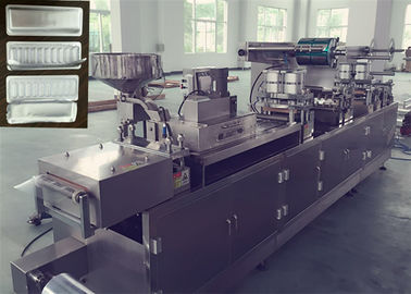 China Fully Automatic Tropical Blister Packing Machine Double Sealed For Sensitive Drug factory