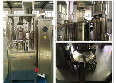 China Auto Powder Pellets Hard Capsules Filling Machine Fully Enclosed Type supplier