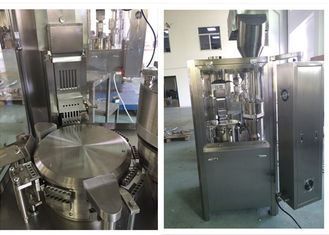China Automatic Pharmaceutical Filling Equipment / Medicine Powder Filling Machine For Capsule supplier