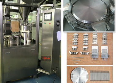 China Customized Pellet  Automatic Capsule Filling Machine Programmable Controlled supplier