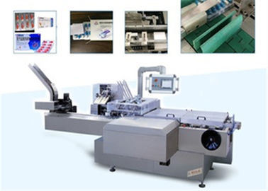 China Pharmaceutical Package Blister Cartoning Machine For Puch , Injection , Medicine factory