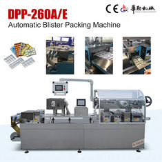China DPP-260AE automatic flat Alu - Alu Blister Packing machine factory