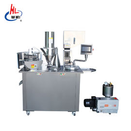 China Advanced Touch Screen Semi Automatic Capsule Filling Machine Oil Vacuum Pump factory