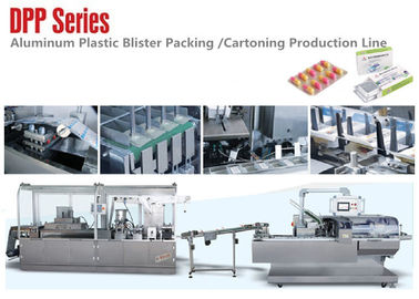 China Automatic High Speed Alu Plastic Blister Packaging Machine Line Pharmaceutical Industry factory