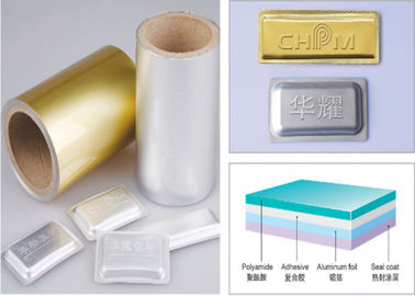 China Soft Tropical Blister Packaging Materials Aluminum Blister Foil supplier