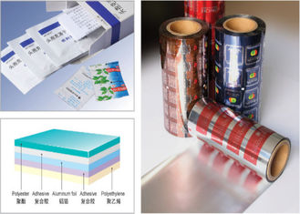 China PET AL PE 3- Layers Blister Packaging Materials Laminated Composite Aluminum Foil factory