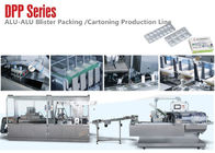 China Alu Alu Blister Packing Line /Blister and  Box Packing Machine Line factory