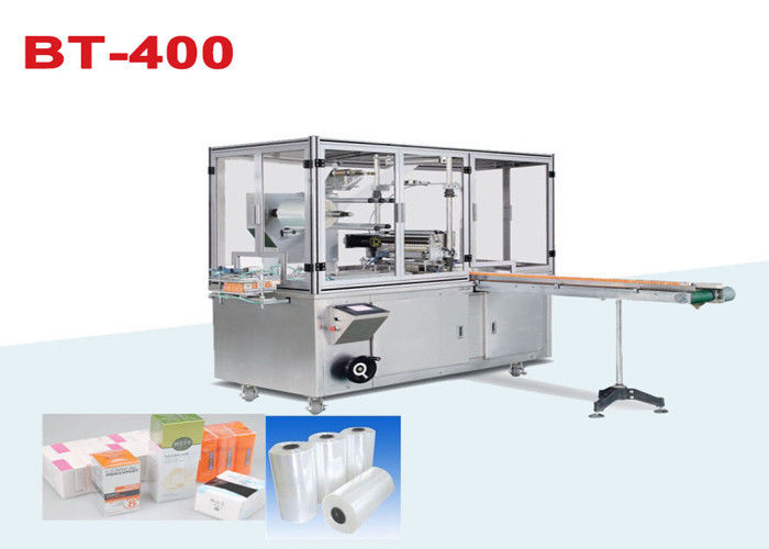 Cellophane Overwrapping Machine Automatic Shrink Wrap Machine supplier