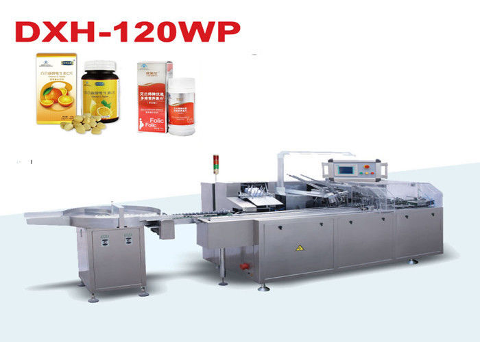 Automatic Bottle Box Packaging Machine / Carton Box Sealing Machine supplier