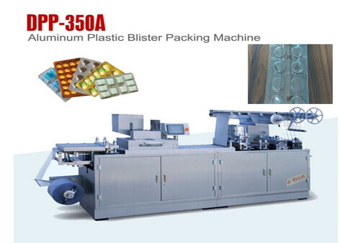 Aluminum PVC Flat Type Large Forming Area Blister Packaging Machine supplier