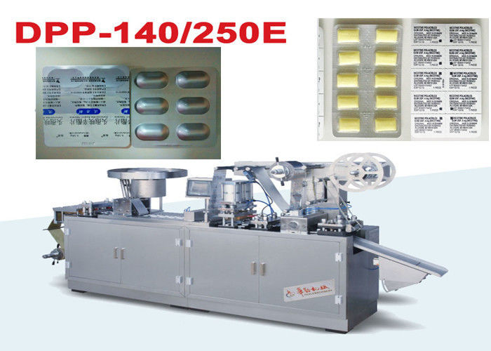 Pill Alu Alu Blister Packing Machine Capsule And Tabelts Use supplier