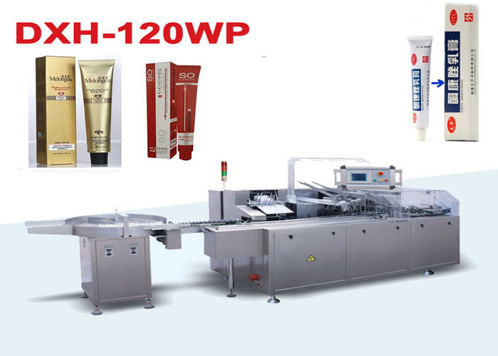 Pharmaceutical Ointment Automatic Cartoning Machine With PLC Control System supplier