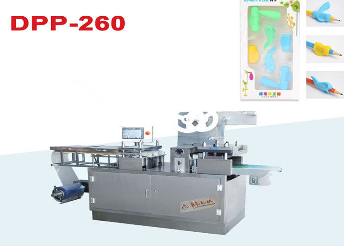 Stationary Tray Blister Making Machine , 10-50 Cutting / Min Plastic Vacuum Forming Machine supplier