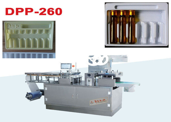 Medical Bottle Tray Plastic Thermoforming Machine / PE Food Tray Sealing Machine 250x180x30 supplier