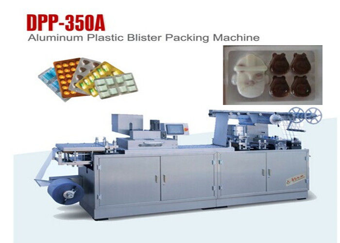 Chocolate Flat Plate Automatic Blister Packing Machine Blister Pack Sealing Machine supplier