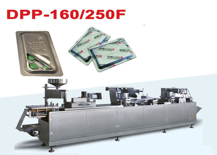 Tropical Blister Packing Machine / high sealing blister wrapping equipment supplier