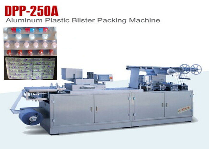 Full Automatic Blister Forming Flat Type Aluminum Plastic Blister Packing Machine supplier