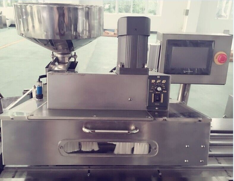 Flat Type Pharmaceutical Blister Packaging Machines , Automatic Blister Pack Sealing Machine