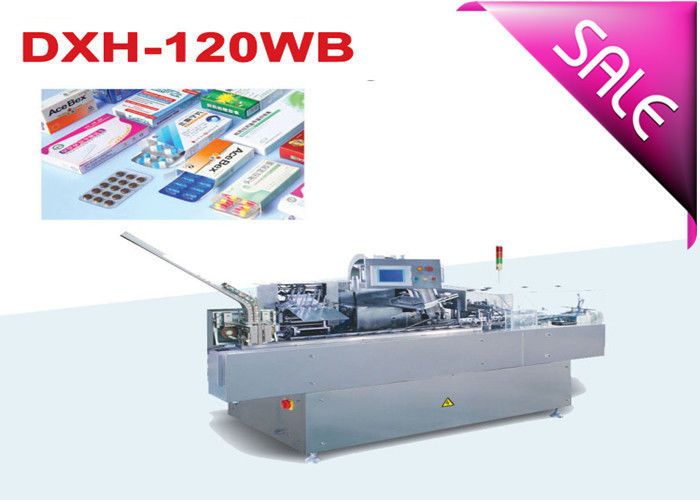 PLC Control Blister Automatic Cartoning Machine With Speed Adjusting By Inverter supplier
