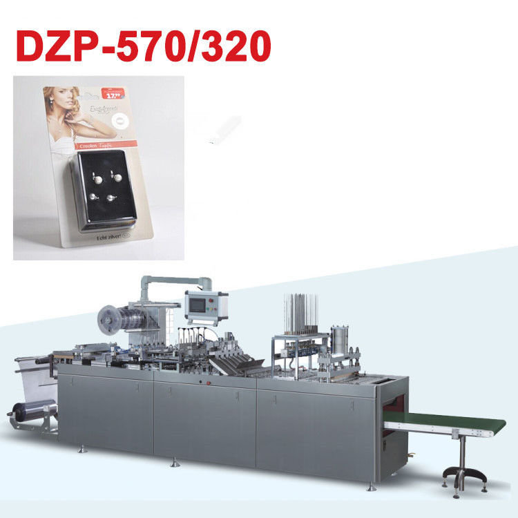 Paper PVC Automatic Blister Packaging Machine For Ear Stud Set Box Blister Packaging supplier