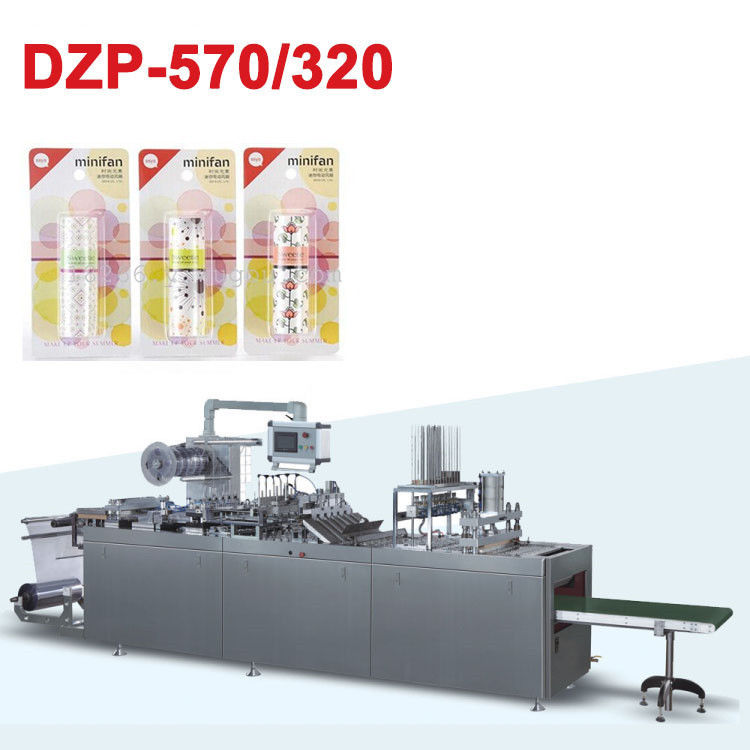Auto Cosmetic Packaging Machine Blister Sealing Machine Low Noise supplier