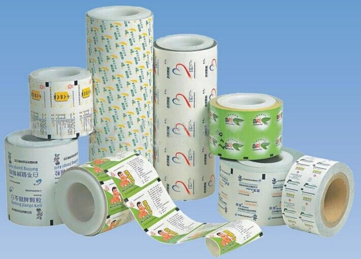 Laminated Paper Aluminium Foil For Drug / Food And Small Medical Devices Packaging supplier
