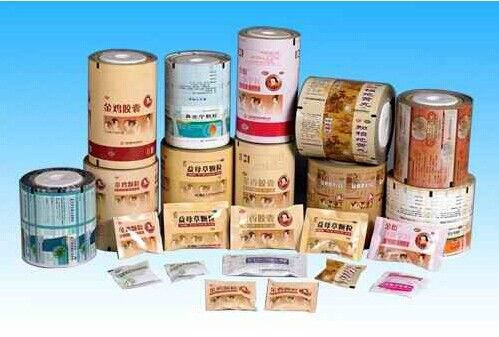 Gravure Soft Plastic Printed Blister Packaging Materials PET / AL / PE Film supplier