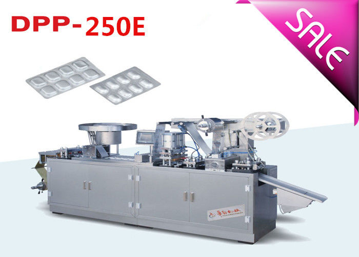 High Output Stainless Steel Automatic Blister Packing Machine with Shaking Feeder supplier
